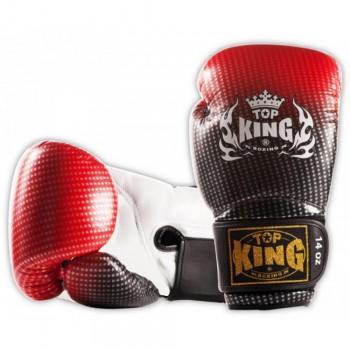 BOXING GLOVES TOP KING SUPER STAR TKBGSS-01-RED