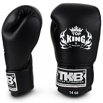 BOXING GLOVES TOP KING ULTIMATE TKBGUV BLACK