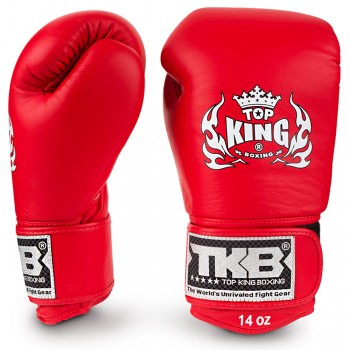 BOXING GLOVES TOP KING ULTIMATE TKBGUV RED