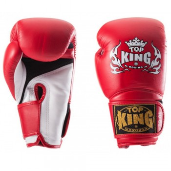 "BOXING GLOVES TOP KING  TKBGSA ""SUPER AIR"" RED"