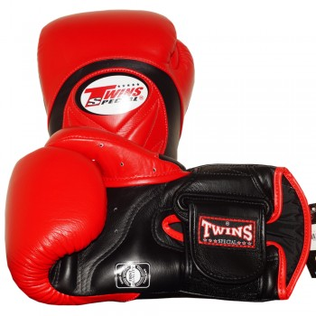 BOXING GLOVES TWINS SPECIAL BGVL-6 RED-BLACK