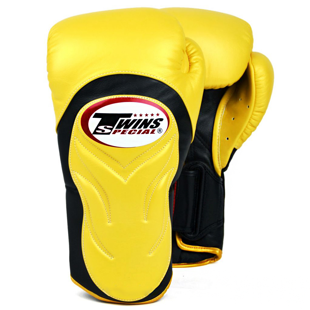BOXING GLOVES TWINS SPECIAL BGVL6 YELLOW BLACK