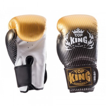 BOXING GLOVES TOP KING SUPER STAR TKBGSS-01 GOLD