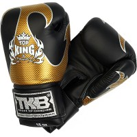 BOXING GLOVES TOP KING EMPOWER CREATIVITY TBKGEM-01 BLACK-GOLD