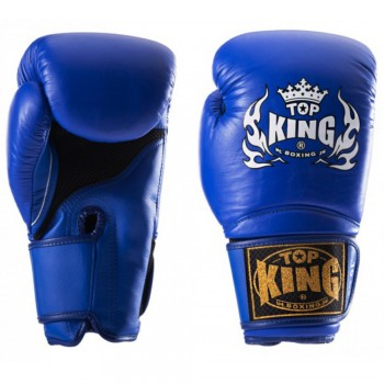 "BOXING GLOVES TOP KING  TKBGSA ""SUPER AIR"" BLUE"