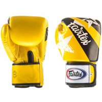BOXING GLOVES FAIRTEX BGV1 NATION PRINT YELLOW