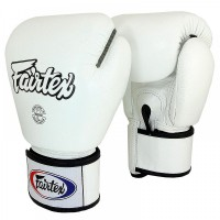 BOXING GLOVES FAIRTEX BGV1 WHITE